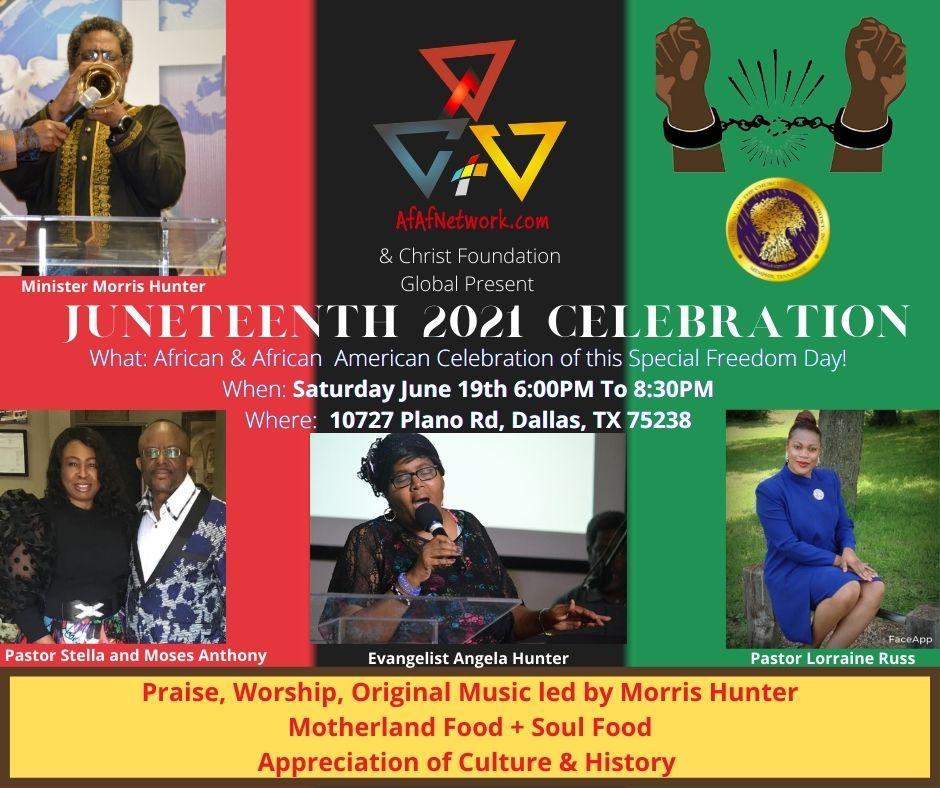 Juneteenth Celebration 2021 COGIC